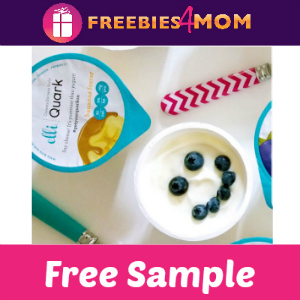 Free Sample Elli Quark Yogurt