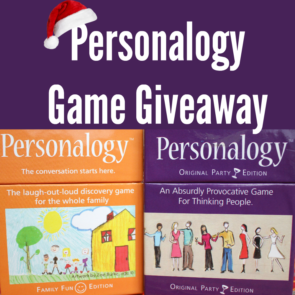 Personalogy Game Giveaway Winners