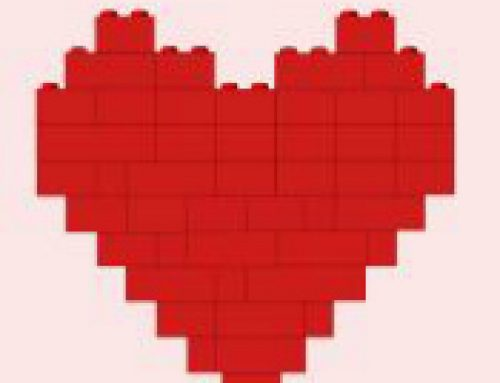 💙Free Printable LEGO Valentine Bookmarks