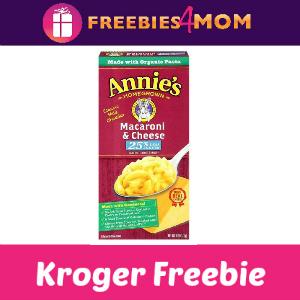 Free Annie's Mac & Cheese at Kroger