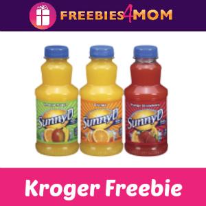 Free Sunny Delight Beverage at Kroger