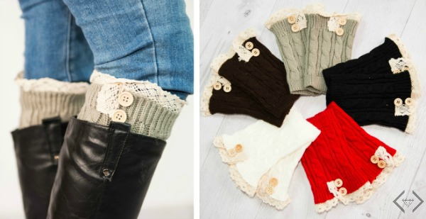 BOGO Free Boot Cuffs (2 for $12.95)