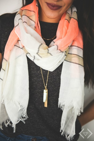 2 Necklaces & Scarf Combo $12.95