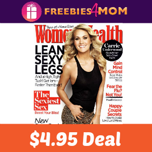 Magazine Deal: Women's Health $4.95
