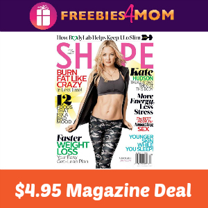 Magazine Deal: Shape $4.95