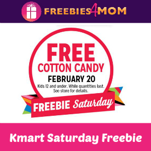 Free Cotton Candy for Kids at Kmart Saturday