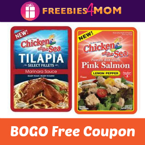 BOGO Free Chicken of the Sea Pouches