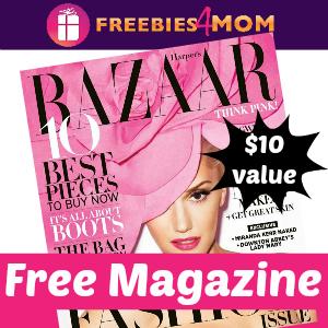 Free Harper's Bazaar Magazine