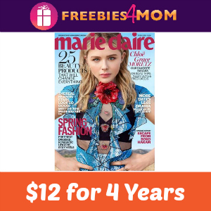 Magazine Deal: Marie Claire $12 for 4 Years