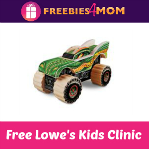 Free Monster Jam Kids Clinic at Lowe's Feb. 27