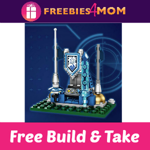 Free Lego Nexo Knights Build & Take