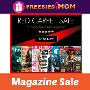 Red Carpet Magazine Sale
