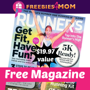 Free Runner's World Magazine ($19.97 value)
