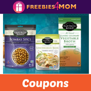 Coupons: Save on Saffron Road Products