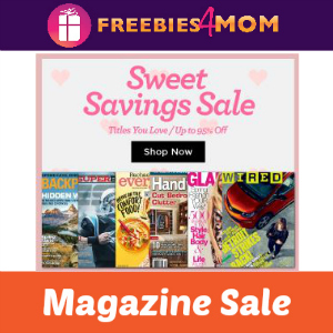 Sweet Savings Magazine Sale