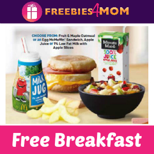 Free McDonald's Breakfast for STAAR Students