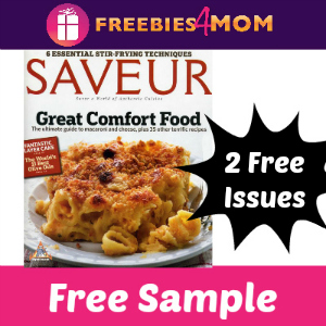 Free Saveur Magazine (2 Free Issues)