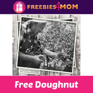 Free Krispy Kreme Doughnut April 1