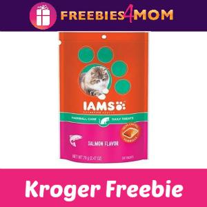 Free IAMS Cat Treats at Kroger