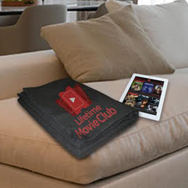 Free Lifetime Movie Club Blanket from Splashscore