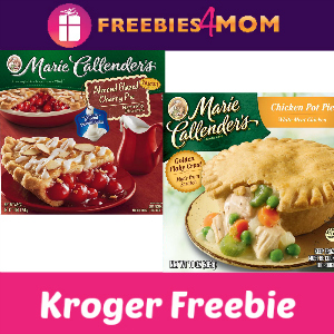 Free Marie Callender's Pot Pie or Fruit Pie