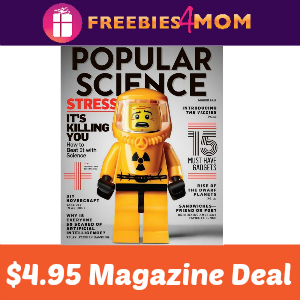 Magazine Deal: Popular Science $4.95