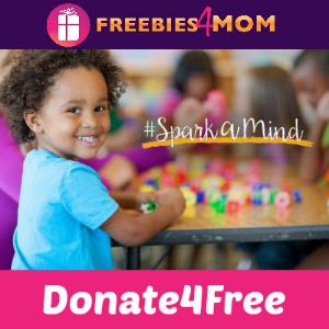 #SparkAMind Donate a Children's Book