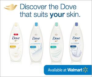 Dove Body Wash at Walmart
