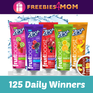 Sweeps Zest Fruitboost Giveaway