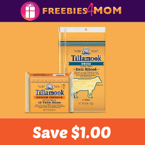 Coupon $1.00 off Tillamook Cheese Slices