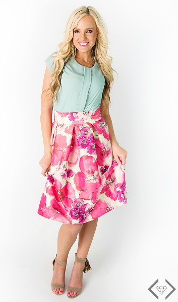 50% off Taffeta Skirts & Heels
