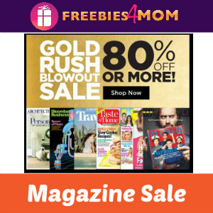 Gold Rush Magazine Sale (80% off or more!)