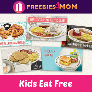 Kids Eat Free at IHOP 4-10 PM Aug. 1-Sept. 25