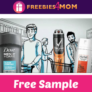 Free Sample Dove Men+ Care & Axe