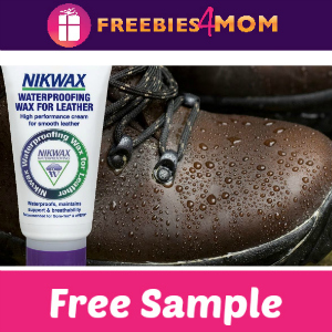Free NikWax Waterproofing Sample