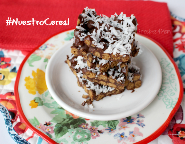 Coconutty Cocoa Puffs Bars Recipe