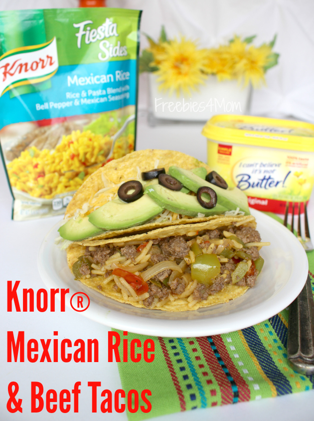 Make More of Mealtime at Safeway: Knorr® Mexican Rice & Beef Tacos
