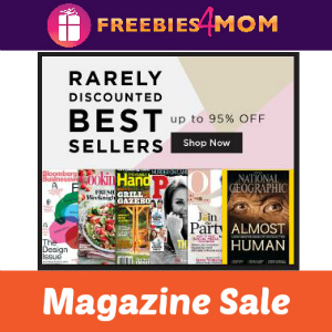 Magazine Sale: Rarely Discounted Titles