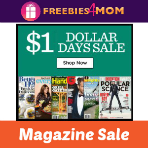 Magazine Sale All Issues $1 or Less