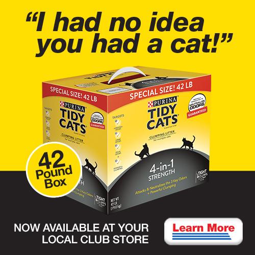 Tidy Cats Cat Litter at Costco