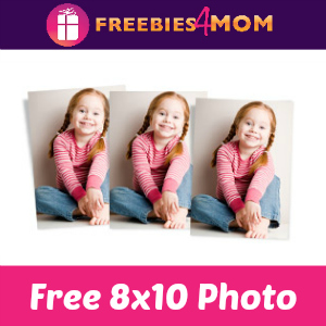 Free 8x10 at Walgreens