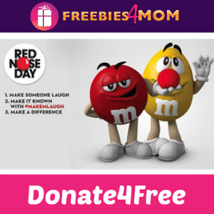 Donate4Free: M&M's and Red Nose Day