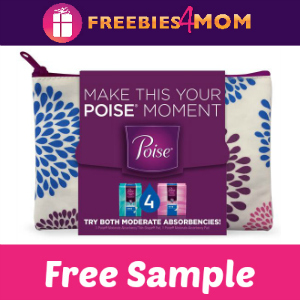 Free Sample: Poise Starter Pack