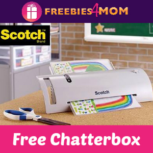 Free Chatterbox: Scotch Thermal Laminator