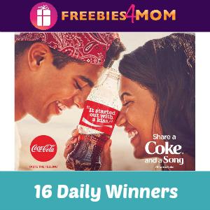 Sweeps Share a Coke (16 Daily Winners)