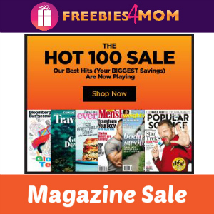 Top 100 Magazines Sale
