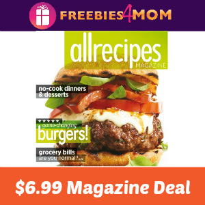 Magazine Deal: Allrecipes $6.99