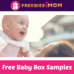 Free Sam's Club Baby Box with Samples
