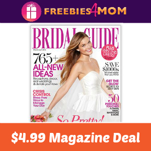 💍Bridal Guide Magazine $4.99