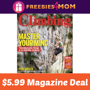 Magazine Deal: Climbing $5.99